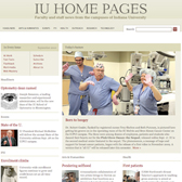 IU Home Pages