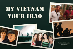 My Vietnam Your Iraq postcard
