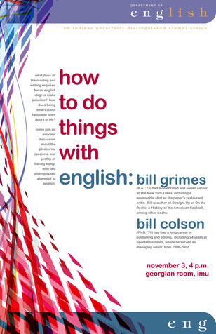 Colson/Grimes poster