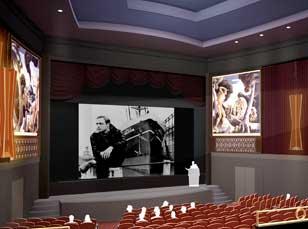 Cinema Screening Room